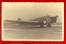 "LATVIA LETTLAND Plane ""BAYER"" VINTAGE PHOTO POSTCARD 313 - 1946-....: Modern Era"