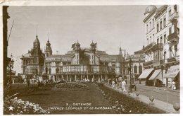 BELGIUM - OSTENDE - RPPC - L'Avenue Leopold Et Le Kursaal  1910 - Oostende