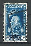 1935 N° 367 LEONARD DE VINCI    OBLITERE - 1900-44 Vittorio Emanuele III
