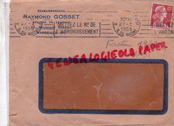 13 - MARSEILLE - ETS. RAYMOND GOSSET -GRAINES SEMENCE- HORTICULTURE -13 BD RABATEAU - 1959  FLORE - Agriculture