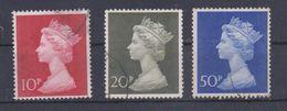 Grossbritannien  1970  Mi.Nr. 549 / 551 , Machin  - Gestempelt / Used / (o) - Machins