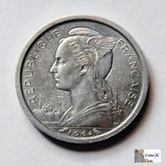 Comoros - 1 Franc - 1964 - Unc - Comoros