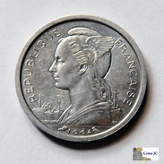 Comoros - 1 Franc - 1964 - Unc - Comores