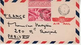 Lettre AEF Pour Paris. - A.E.F. (1936-1958)
