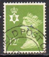 GB N. Ireland 1971-93 12p Phosphor Regional Machin, Used, SG 31 - Northern Ireland