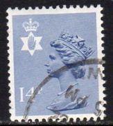 GB N. Ireland 1971-93 14p Grey Blue Questa Regional Machin, Used, SG 38 - Northern Ireland