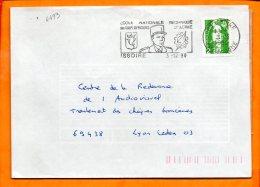 PUY De DOME, Issoire, Flamme SCOTEM N° 4493, Ecole D'enseignement Technique De L'Armée - Marcophilie (Lettres)