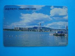 KOREA USED CARDS  LANDSCAPES - Korea, South