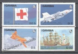 Gambia - Gambie 1988 Yvert 710-13, Anniversaries & Events - MNH - Gambie (1965-...)