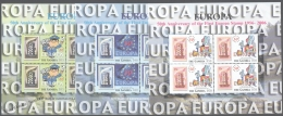 Gambia - Gambie 2004 Yvert 4490-92, 50th Ann. First Europa Stamp - Sheetlets - MNH - Gambia (1965-...)