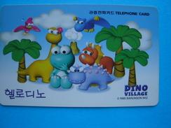 KOREA USED CARDS DISNEY COMICS DINO - Korea, South