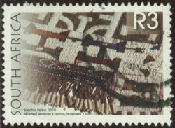Afrique Du Sud 2010 Yv N°1569 - 3R Tablier De Femme - Oblitéré - Afrique Du Sud (1961-...)