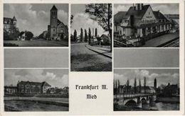 Frankfurt-Ried Mehrbildkarte - Frankfurt A. Main