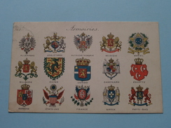 ARMOIRIES ( Edit. Grinquet Bruxelles ) Anno 19?? ( Details Zie Foto´s ) ! - Postkaarten