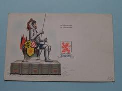 DE LANGEMAN ( N 5 - P. A. 023127 ) La Belgique Folklorique / Anno 19?? ( Details Zie Foto´s ) ! - België