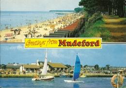 HAMPSHIRE  MUDEFORD  Greetings From.. - Inghilterra