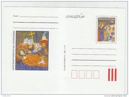 Hungary RELIGION 900th ANNIVERSARY ST.LADISLAS DEATH MINT POSTAL CARD 1995 - Christendom
