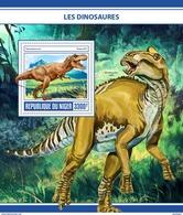NIGER 2017 - Dinosaurs S/S. Official Issue - Prehistorisch