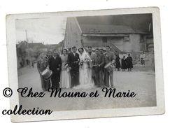 LIESLE - UN MARIAGE - PANNEAU ROUTIER ARC SENANS JURA - DOUBS - PHOTO 9 X 6.5 CM - Orte