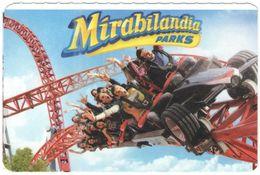 ITALIA - ITALY - ITALIE - Mirabilandia Parks - Biglietto D'ingresso Omaggio Valido 3 Giorni - Usato - Biglietti D'ingresso