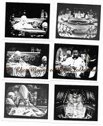 PAPE JEAN 23 XXIII - CEREMONIE TELEVISEE A ST PIERRE DE ROME ITALIE - LOT DE 6 PHOTOS - Famous People