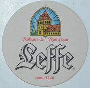 Sous-bock LEFFE Abbaye Abdij Bierdeckel Bierviltje Coaster (N) - Sous-bocks