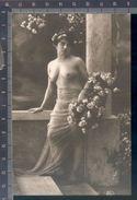 345/276 CPA CARTOLINA POSTALE WOMAN NUS FEMME D'EPOQUE EROTIC DONNA NUDA EROTICA SEX PRIMI 900 RIPRODUZIONE DA ORIGINALE - Beauté Féminine D'autrefois < 1920
