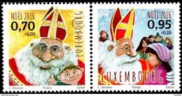 Luxembourg - 2016 - Christmas - Mint Stamp Set - Unused Stamps