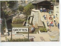 Belgique : Les Grottes De Remouchamps - Entrée (barque Bateau) Cp Vierge - Aywaille