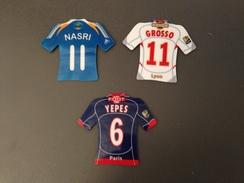3 MAGNETS Maillots De Just Foot 2008 - Sports