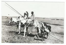 Indiens // Indiens De L'Amérique Du Nord // Blackfoot Family - Indiens De L'Amerique Du Nord