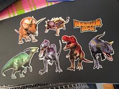 Lot 7 MAGNETS Dinosaure Tyrannosaure - Animaux & Faune