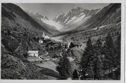 BLATTEN → Schöne Fotokarte Aus Den 50er Jahren - VS Wallis