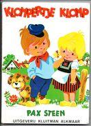 Klompertje Klomp Door Pax Steen Met Patroon Klompertje En Hond   Om Te Borderen - Livres, BD, Revues