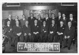 CPA - SCHILTIGHEIM (67) - Carte Photo : Fête-remise Des Médailles Du Travail De La Brasserie ADELSHOFFEN : Années 50 - Schiltigheim