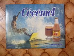 Boisson Chocolat  - Carton 30 X 40 Cm -  Cécémel - Nutricia - - Plaques En Carton