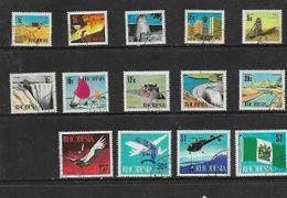 Rhodesia 1970, Definitives, 1/2c - $2, 14 Values, Used - Rhodesia (1964-1980)
