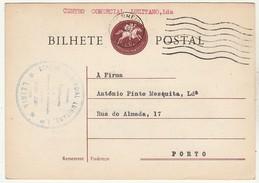Postal Stationery * Portugal * 1965 * Centro Comercial Lusitano, Lda * Leiria - Postwaardestukken