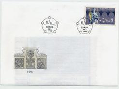 CZECH REPUBLIC 1993 600th Anniversary Of Sv.Nepumuk On FDC.  Michel 4 - FDC