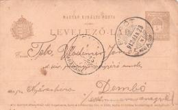 ALTE  Postkarte  BARAOLT / Rumänien / Siebenbürgen  - Ungarischer Poststempel - 1912 Gelaufen - Roumanie