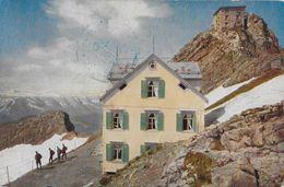 SÄNTIS → Observatorium Säntis Anno 1918  ►seltener Stempel / Postprüfungsstelle-Austauschstation KONSTANZ&#x - AI Appenzell Inner-Rhodes