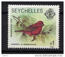 SEYCHELLES - N° 380** - CARDINAL DE MADAGASCAR - Seychelles (1976-...)