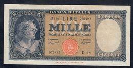 1000 Lire Medusa 15 09 1959 Bel Bb/spl Naturale   LOTTO 303 - [ 2] 1946-… : Repubblica