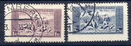 CZECHOSLOVAKIA 1934 National Anthem On Carton Paper Used, Signed Gilbert .  Michel 330x-31x - Czechoslovakia