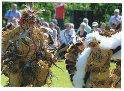 Indiens D'Amérique Du Nord // Wendake // Troupe De Danse Huronne - Indiens De L'Amerique Du Nord