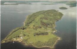 Postcard - Inchmurrin Island, Loch Lomond Posted 9/8/8 - Vg - Cartoline