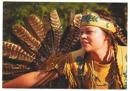 Indiens D'Amérique Du Nord // Wendake // Troupe  Sandokwa (Hurons) - Indiens De L'Amerique Du Nord