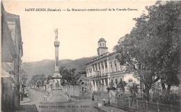 LA REUNION - Saint Denis / Le Monument Commémoratif De La Grande Guerre - Reunion