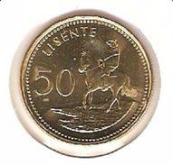 LESOTHO 50 LISENTE 1998 PICK KM65 UNC - Lesotho