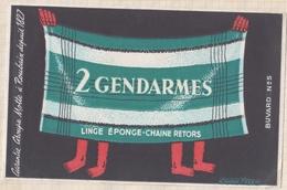 800  BUVARD Groupe Motte Roubaix 2 GENDARMES - Textile & Clothing